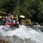 Mini raft en Lozère avec Fremyc à Meyrueis