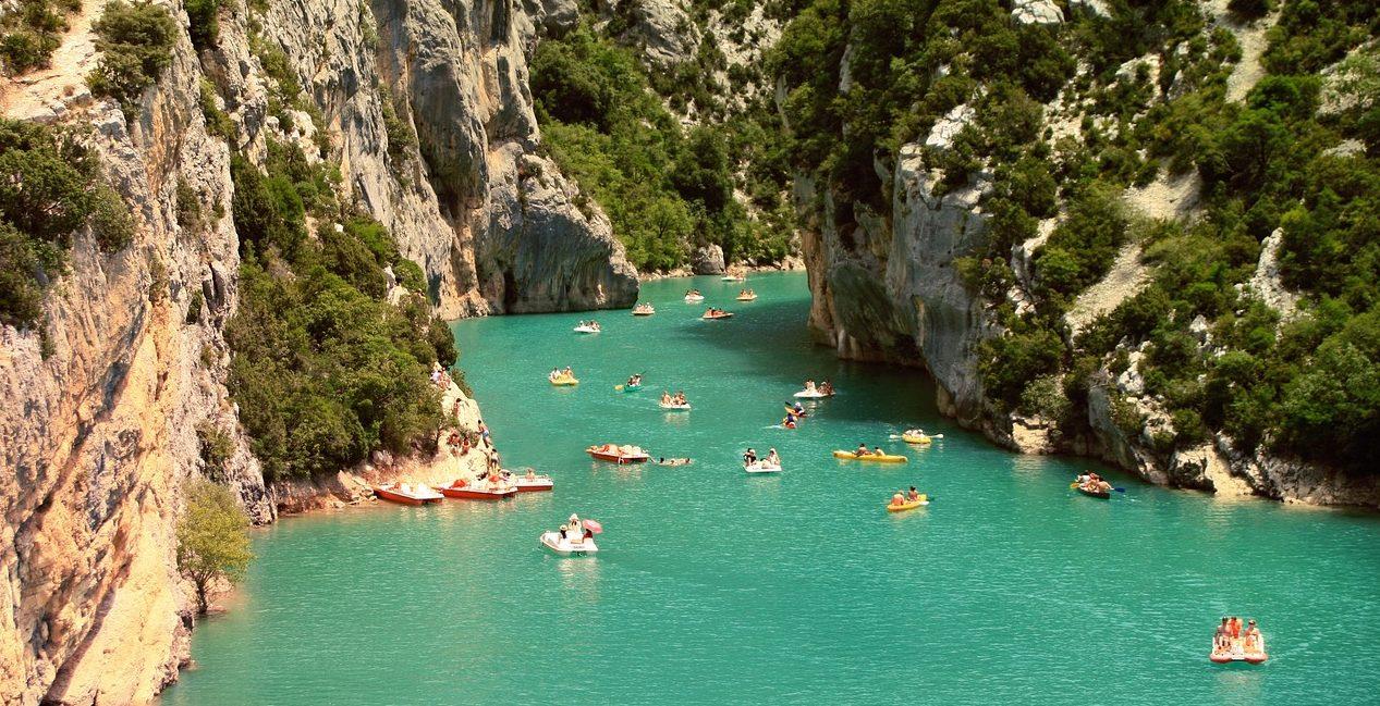 Canoë Kayak Dans les Gorges du Tarn en Lozère