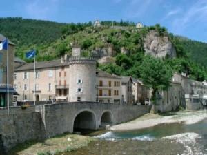 Village de Meyrueis en lozère