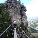 Via Ferrata en Lozère Gorges du Tarn