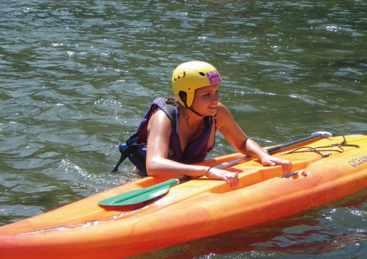 Stand up paddle en Lozère